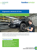 Ergonomic retrieval of tires